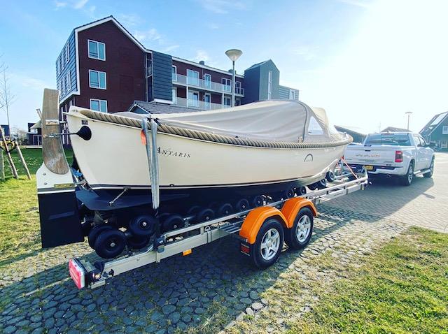 Botenman winterstalling trailer